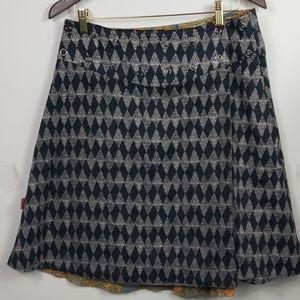 lingam Skirts - Lingam NWT Faldilla reversible Camaleon free size